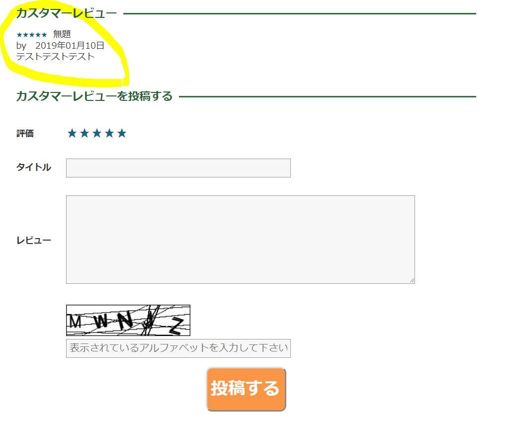 レビュー登録方法④