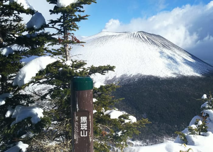 Yamakara黒斑山雪山登山